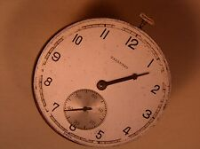 1940's 17J Cyma Tavannes Vintage 507 pocket watch movement, running