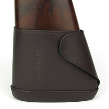 Tourbon Hunting Butt Stock Extension Slip-on Recoil Pad Brown Genuine Leather