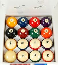 "Belgian Aramith Crown Standard 2 1/4"" Pool Balls set, FREE SHIPPING"