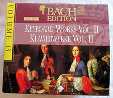 CD (S) - Bach Edition 13-Keybord Works Vol. II-OPERE PIANOFORTE - 12 CD Set