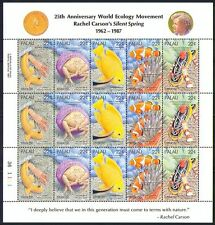 Palau 1987 Fish/Marine/Nature/Wildlife 15v sht (n31442)