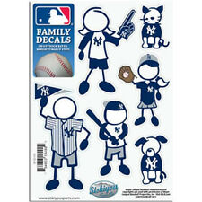 New York Yankees Family Decals 6 Pack (NEW) Auto Car Stickers Emblems MLB