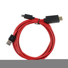 USB MHL to HDMI Cable Adapter HDTV for Samsung Galaxy Tab S 10.5 8.4