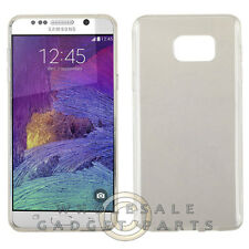 Samsung Galaxy Note 5 Candy Skin Semi Transparent White Shell Protector Guard
