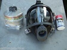 Scott/SEA Gas Mask Kit w/40mm NBC-CBRN Filter & Potassium Iodide Free Shipping