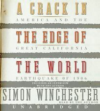 A Crack in the Edge of the World CD Winchester, Simon Audio CD