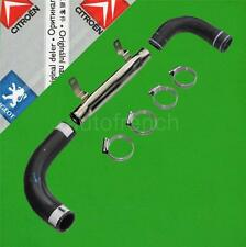GENUINE Peugeot 309 205 GTi Metal Intermediate Water Pipe Rubber Hoses & Clips