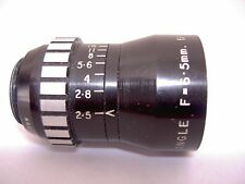 Vintage Dallmeyer Wide Angle Lens, F=6.5mm, f/2.5