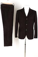 MIU MIU Kordanzug aus Baumwolle braun Gr.48/50 S / M