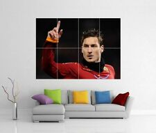 Francesco TOTTI ROMA GIANT Wall Art Print picture FOTO POSTER J21