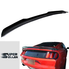 Carbon Fiber Ford Mustang 6th Coupe V Style Rear Trunk Spoiler Wing 2015-2016