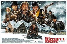 Jason Edmiston The Hateful Eight Tarantino Mondo Poster Print