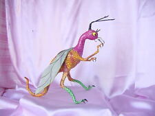 DAVID LINARES MEXICAN PAPER MACHE MAGICAL ALEBRIJE DRAGON FIGURE FOLKART NR