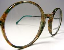 Mint Dollond Aitchison Green Marbled Round P3 Eyeglasses Frames NOS Vintage 46