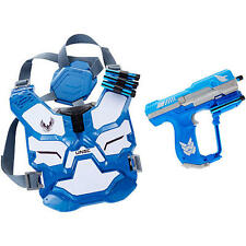NEW BoomCo HALO UNSC Spartan Assault Armor Pack Battle Gear Set - BLUE