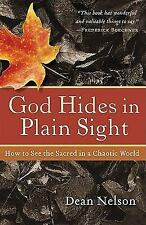 God Hides in Plain Sight : How to See the Sacred in a Chaotic World by Dean...