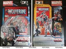 "Marvel Universe Greatest Battles Comic Packs WOLVERINE & SILVER SAMURAI 3"" 3/4"