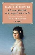 Buch Ich war glücklich, ob es regnete oder nicht von Hans Pleschinski