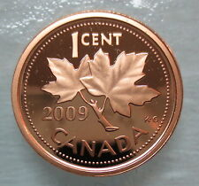 2009 CANADA 1 CENT PROOF PENNY COIN