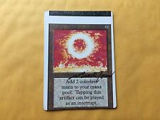 Heavily Miscut Unlimited SOL RING Signed Misprint MTG Magic Vintage Commander
