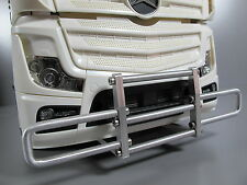 New Aluminum Alloy Bumper Guard Tamiya RC 1/14 Mercedes Benz Actros Semi Tractor