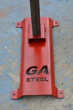 """STEEL TARGET STAND FOR ANGLE 1/4"""" X 1 1/2""""  BASE-01"""