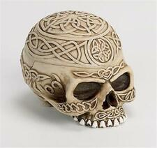 "3"" x 5"" Celtic Skull Stash Box and Ashtray!"