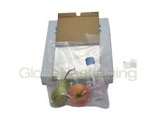 """100 x HEAVY DUTY 12x15"""" CLEAR POLYTHENE FOOD USE APPROVED BAGS *200 GAUGE* FAST"""