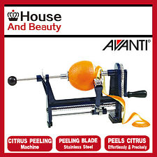 NEW Avanti Kitchen Werks S/Steel Citrus Peeling Machine,Orange Peeler,RRP $49.95