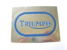 Vecchio Adesivo da Collezione /Old Sticker TRIUMPH (cm 9 x 6)