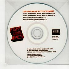 (GG174) Fight Like Apes, Lend Me Your Face - 2009 DJ CD