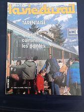 vie du rail 1985 1988 VOUJEAUCOURT SAINT HIPPOLYTE AIME LA PLAGNE ALBERTVILLE Eg