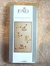 FAO Schwarz THE MANHATTAN COLLECTION Wall Decals Bears Rocking Horse Stars New