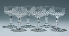 6 Bleikristall Likörschalen FLAMENCO Schott Zwiesel 1970er Jahre   #90107z