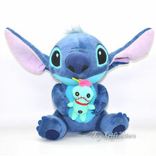"new Lovely Lilo Stitch with SCRUMP Plush Doll 24cm 9.6"" Soft Stuffed Toy Loose"