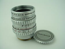 Bell & Howell SUPER COMAT 1 Inch F/1.9 Cine C-Mount 16mm Lens - Very Clean