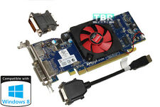 AMD ATI Radeon HD 6450 1GB Windows 8 DVI DisplayPort FH Dell Video Graphic Card