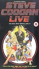 Steve Coogan Live - The Man Who Thinks He's It (VHS, 1998)