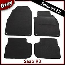 Saab 93 Convertible Tailored Fitted Carpet Car Mats GREY (2003 2004 2005 2006 -)