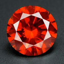 BUY CERTIFIED .031 cts. Round Vivid Red Color SI Loose Real/Natural Diamond 1E