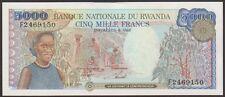 TWN - RWANDA 22a - 5000 Francs 1/1/1988 UNC Prefix F