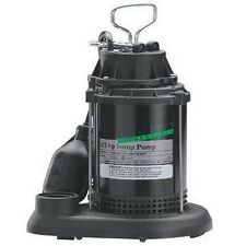 """1.5"""" Discharge Bore - Electric SUMP PUMP Submersible - 3,600 GPH - 1/2 Hp"""