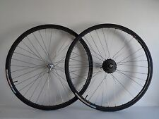 *Vintage 1980s Campagnolo Record / FIR Italian 7 speed clincher wheels*