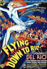 Flying Down to Rio (DVD, 2006) slim case from box set Ginger Rogers Fred Astaire