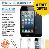 Apple iPhone 5 - 16 GB - Black & Slate (Unlocked) Smartphone