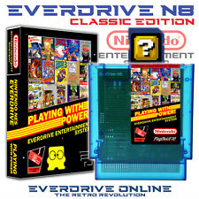 EverDrive N8 NES CE (Nintendo NES Region Free Cartridge/Case/8Gb SD) Brand New