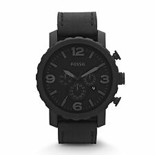 Fossil Men's JR1354 'Classic' Black Stainless Steel Watch