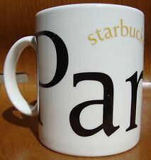 2002 Starbucks Coffee City Mug Collectors Series Paris 16 FL Oz Cup France