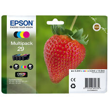 NEW Genuine EPSON 29 STRAWBERRY Combo Multipack T2986 XP 235 332 335 432 435