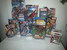 "Marvel Legends set / lot - DEADPOOL - RARE POP! Variants Warpath 3.75"" Universe"